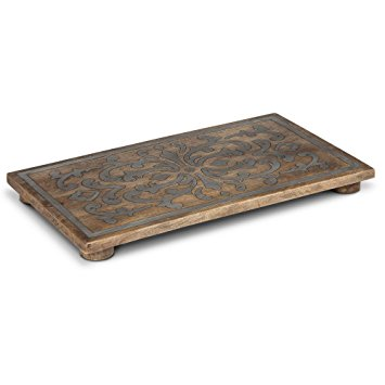 GG Collection   Trivet Rec Wood/Metal $103.00