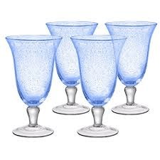 $11.50 Iris Ice Tea Goblet Lt Blue