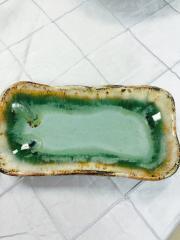 $33.00 Dish Butter Blue