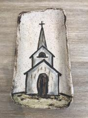 Etta B Pottery   Platter Grace Church $46.50