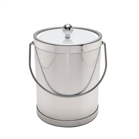 Mr. Ice Bucket   Ice Bucket Brushed Platinum $62.50