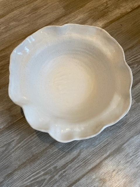 "$185.00 Bowl XLG 18"" Simply White"