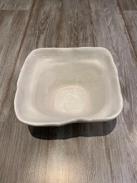 $75.00 Bowl Sq Deep Simply White