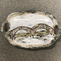 $149.50 Platter Memphis Bridge