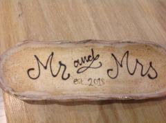 Etta B Pottery   Mr and Mrs Tray 2018 $57.50
