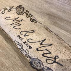 Etta B Pottery   Mr & Mrs Platter 2019 $64.00