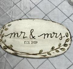 $73.00 Mr and Mrs Plaque 2020