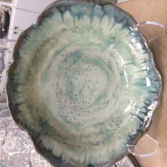 Etta B Pottery   Pasta Serving Bowl Large - Opal Blue $154.00