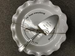 $47.00 Pie Plate
