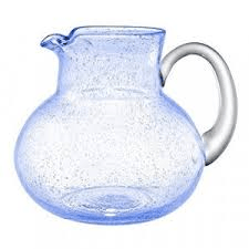 $25.50 Iris Pitcher Lt Blue