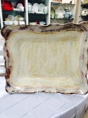 $136.50 Platter Rec Lg Birch