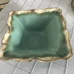 Etta B Pottery   Bowl Sq X Lg Blue $141.00
