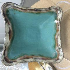 Etta B Pottery   Serving Bowl Square Medium - Blue $75.00