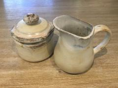 Etta B Pottery   Sugar Bowl - Birch $44.00