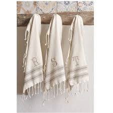 Mud Pie   Towel Turkish B $10.00
