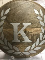 GG Collection   Trivet Wood/Metal K $48.00