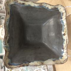 Etta B Pottery   Serving Bowl Sq Large Gray $119.00