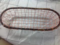 Mudpie   Copper Basket Sm $18.50
