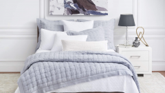PILLOW SHAM EURO DANETTE FOG collection with 1 products