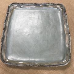 $125.50 Platter Sq Lg Peaceful/Lapis