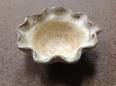 Etta B Pottery   Bowl Wavy Birch Sm $37.50
