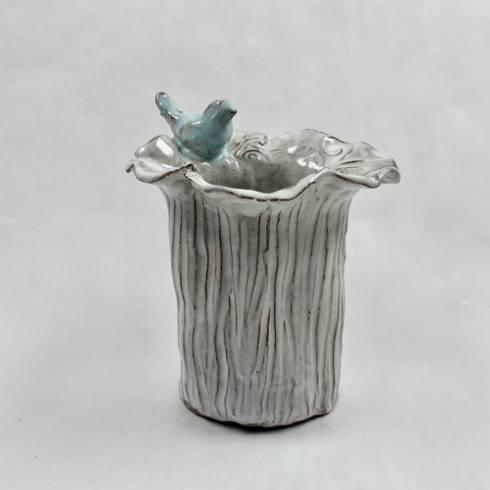 $44.00 Vase-Small w/Bird