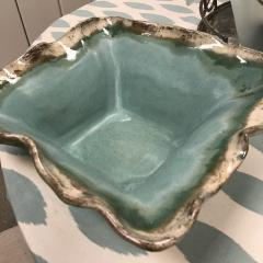Etta B Pottery   Bowl Sq 14SIM Blue $119.00