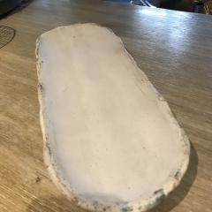 $66.00 Bread Tray Charming White
