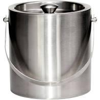 Ice Bucket 3 Qt Brushed Stainless Steel collection with 1 products