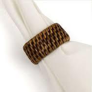 Napa Home & Garden   Napkin Ring Burma Rattan $4.00