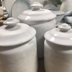 $484.00 Canisters Set of 4 Simply White