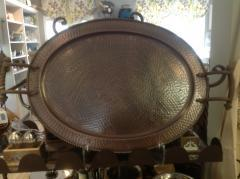GG Collection   Tray Oval Copper $170.50