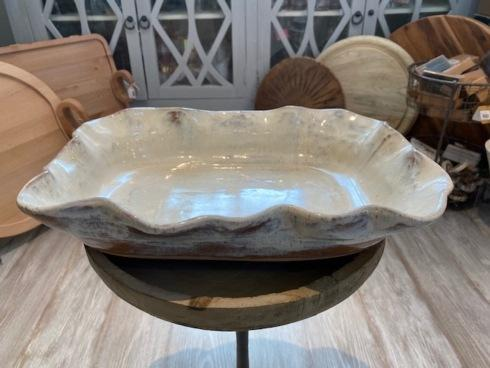 $175.00 Fluted Casserole Pearl