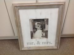 Mudpie   Frame Mr & Mrs $59.00