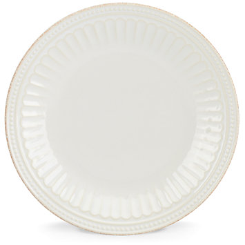 Lenox  French Perle Groove - White Salad/Accent Plate $17.00
