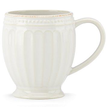 Lenox  French Perle Groove - White Mug $10.00