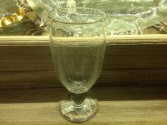 Trade Associates Group  Bubble Glass Goblet Lg $18.00