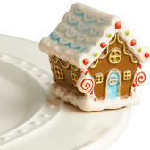 Nora Fleming  Attachments Gingerbread House $13.50