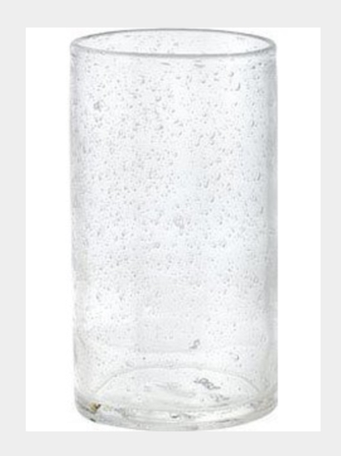Trade Associates Group  Bubble Glass Bubble Glass Tumbler $11.00
