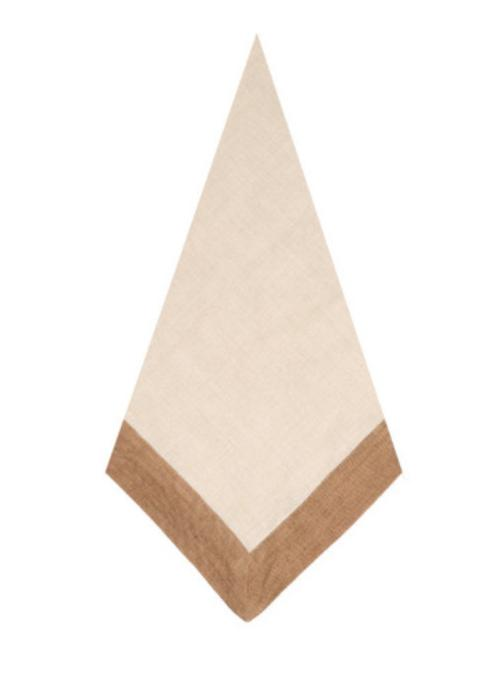 $28.00 Napkin Madison - Natural/Tan
