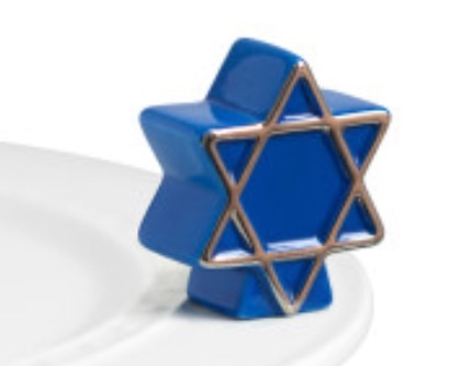 Nora Fleming  Attachments Star of David $13.50
