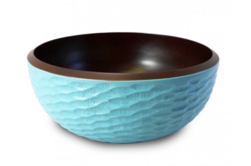 Salad Bowl Honeycomb - Turquoise collection with 1 products