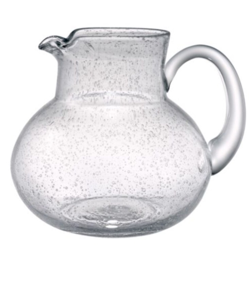 Artland   Pitcher Iris Clear $25.50