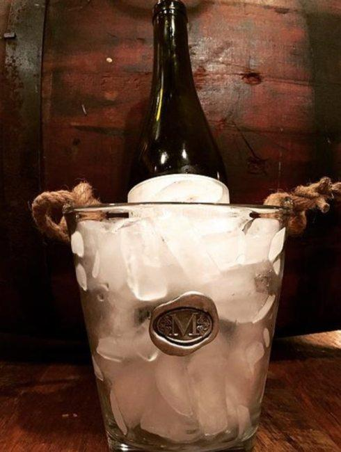 $57.50 Ice Bucket with Initial