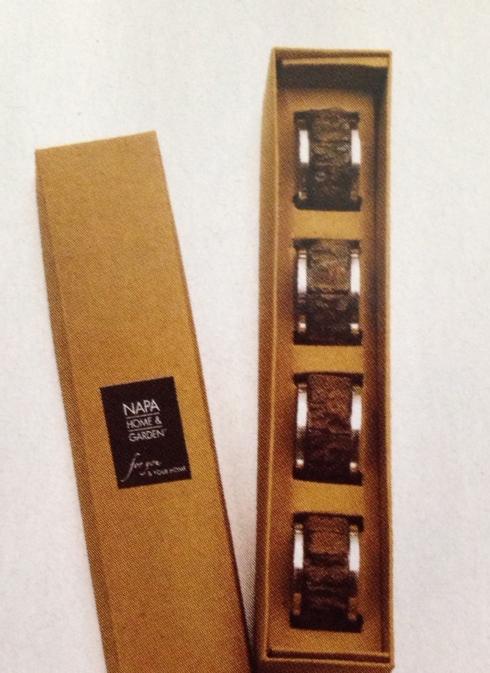$28.00 Napkin Rings - Log Cabin (set of 4)