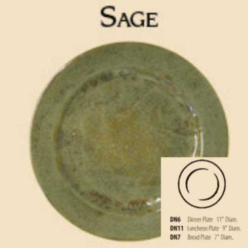 Good Earth Pottery  Sage Salad/Luncheon Plate $46.00