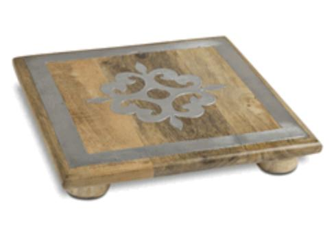 GG Collection   Trivet Inlay - Square $48.00