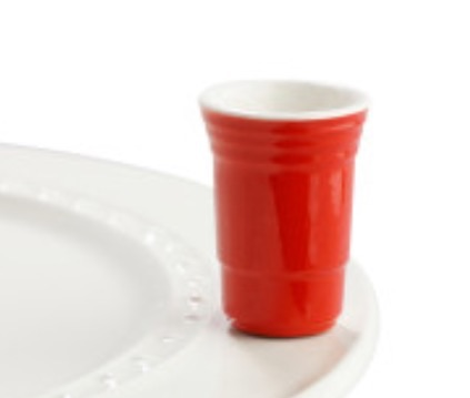 Nora Fleming  Attachments Red Solo Cup $13.50
