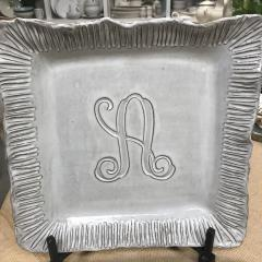 Tray Sq 14x14 Initial Custom collection with 1 products
