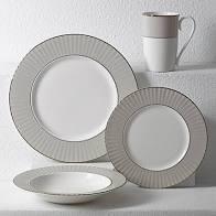 $32.00 Dinner Pleaded Colors Grey